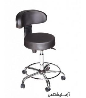 صندلی پزشکی چرمی مدل آزمایشگاهی P-Chair-Doctor-01