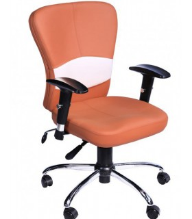 صندلی کارمندی چرمی مدل P-Chair-422Q