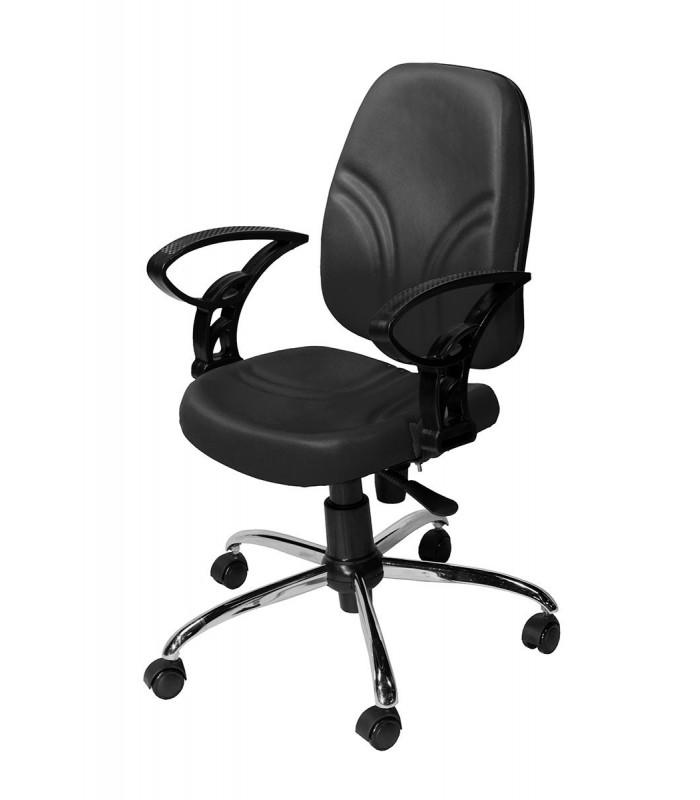 صندلی کارمندی چرمی مدل P-Chair-150