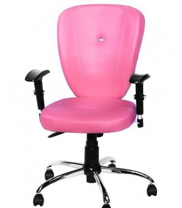 صندلی کارمندی چرمی مدل P-Chair-705Q