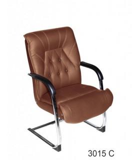 صندلی کنفرانس چرمی مدل P-Chair-3015C