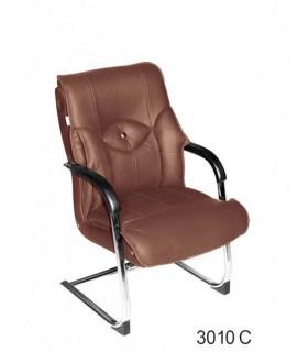 صندلی کنفرانس چرمی مدل P-Chair-3010C