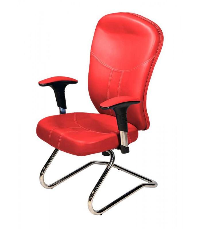 صندلی کنفرانس چرمی مدل P-Chair-423C