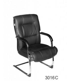 صندلی کنفرانس چرمی مدل P-Chair-3016C