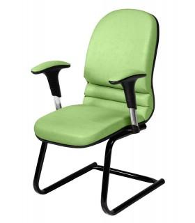 صندلی کنفرانس چرمی مدل P-Chair-7011C
